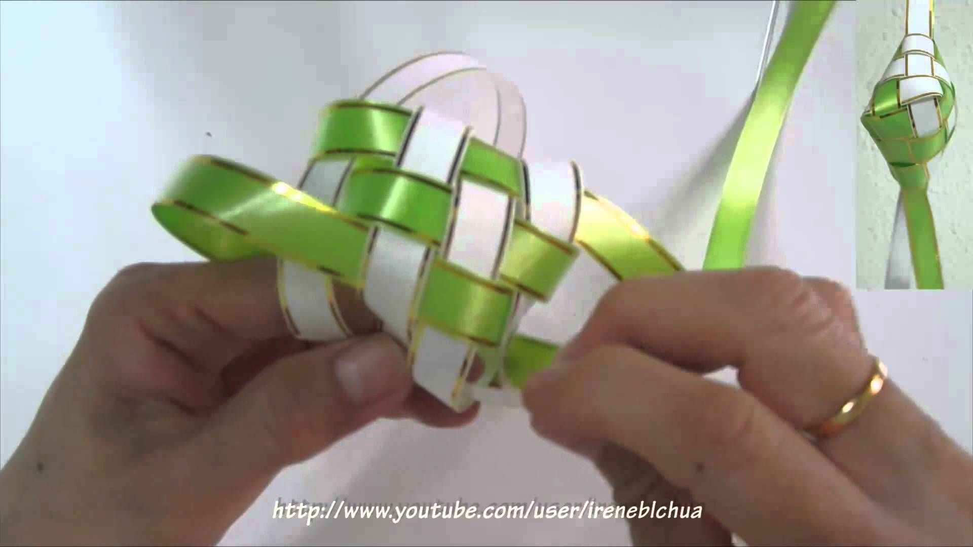 how to weave a ketupat casing  weaving how to make