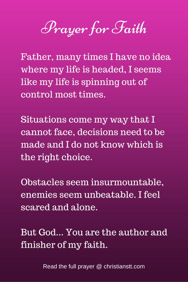 Morning Prayer for Faith and God's Blessings