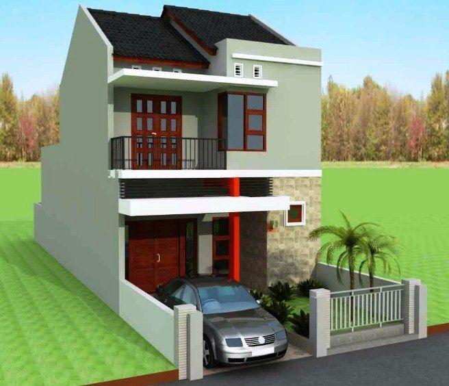 Desain Rumah Minimalis Type 36 2 Lantai Sederhana Modern Rumah Minimalis Desain Rumah Rumah