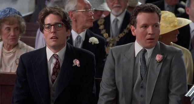 Hugh Grant Timothy Walker In Four Weddings And A Funeral 1994 Wedding Film Hugh Grant Funeral