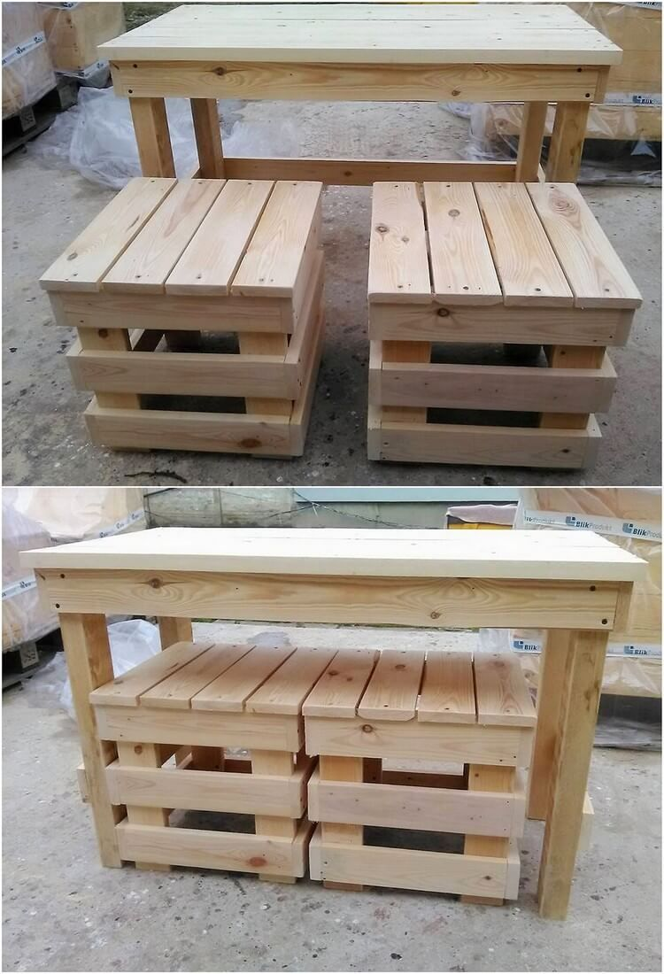 Amazing Things Made From Old Shipping Pallets Woodworking