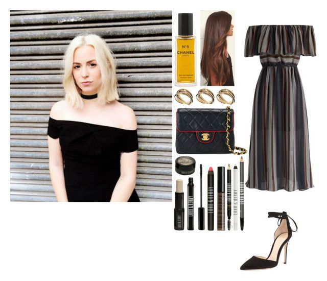 """""""Photoshoot with Gemma in London"""" by zandramalik ❤ liked on Polyvore featuring Gianvito Rossi, Chanel, Chicwish, ASOS and Lord & Berry"""