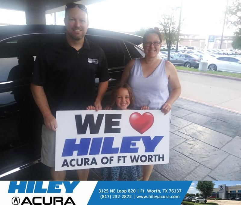 Congratulations Tara on your #Acura #MDX from Tony Gant at Hiley Acura! #NewCar
