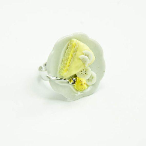 $26.68 Anillo Dessert / Merengue Hand Made - Artesanio
