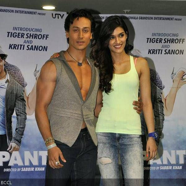 Heropanti: Promotions- The Times of India Photogallery
