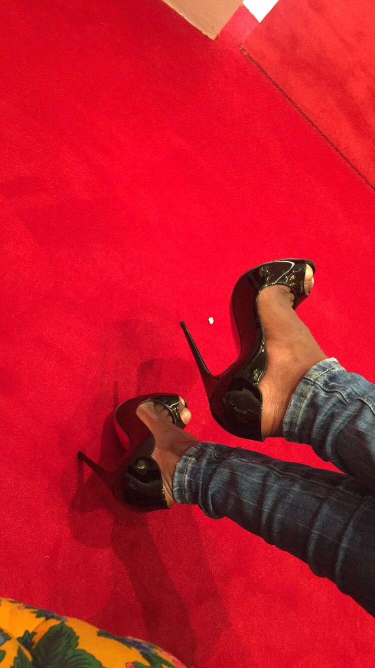 Christian Louboutin Heels #black #heels