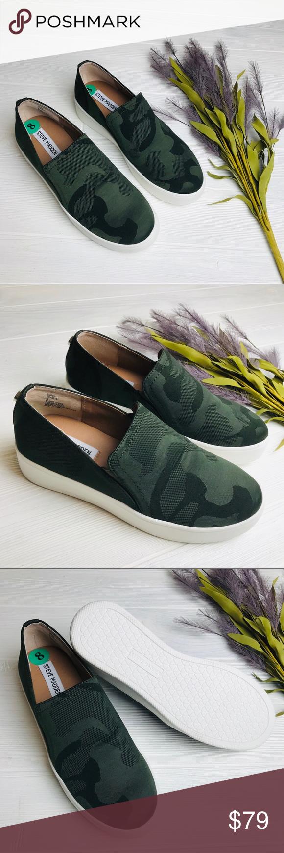 Steve Madden Camo Sneakers | Staple