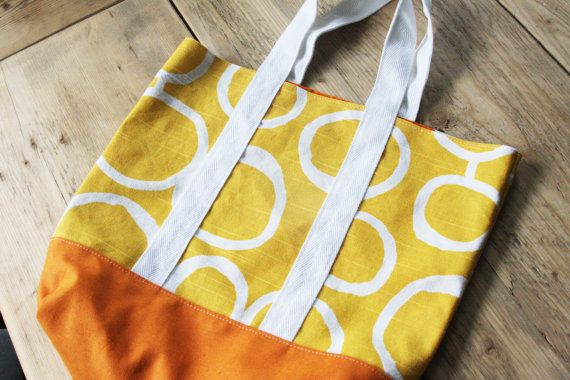 cute handmade tote bag <3
