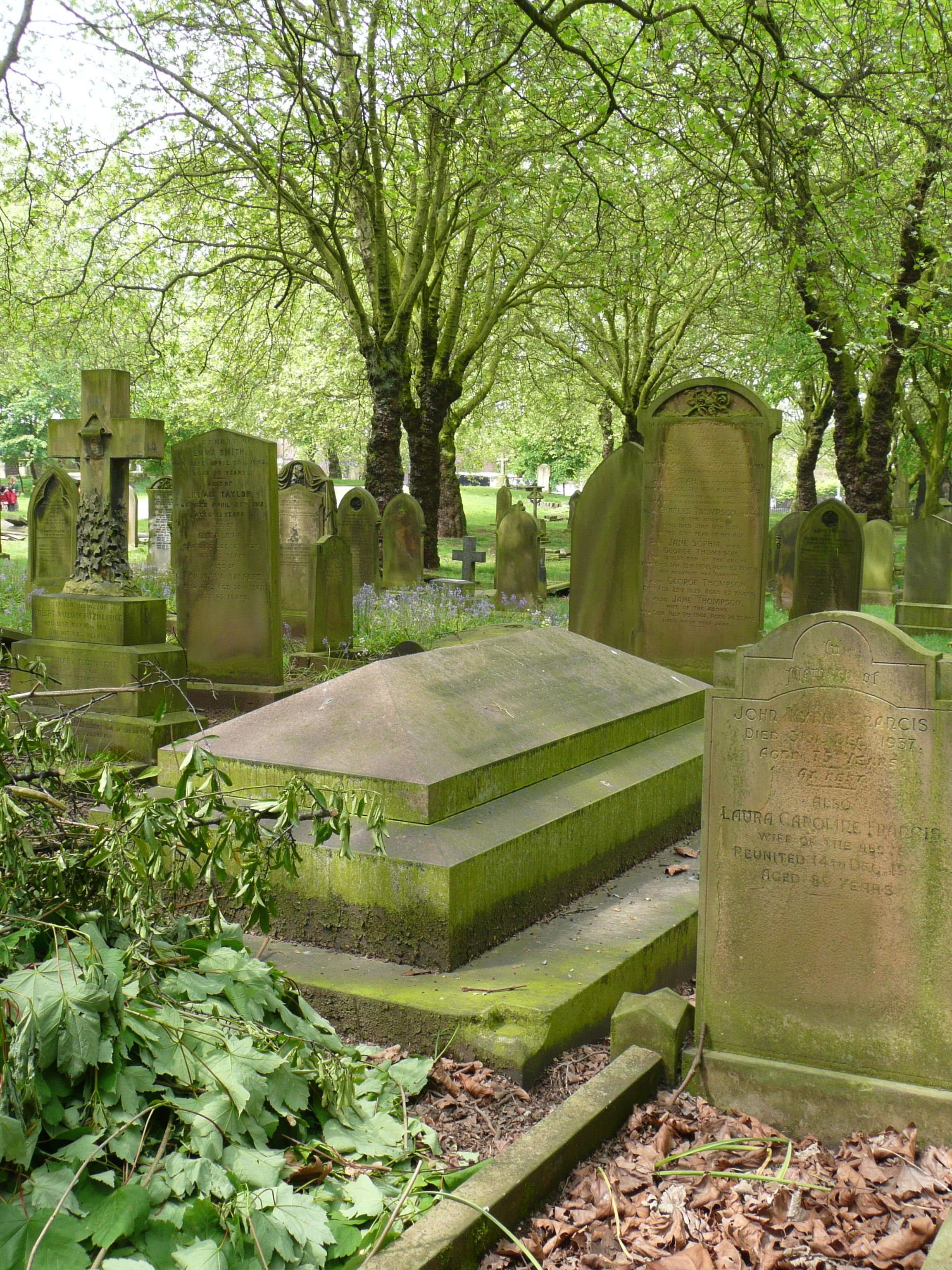 a taphophile is someone who loves cemeteries - whoa, didn't know they had a name for this obsession of mine!!