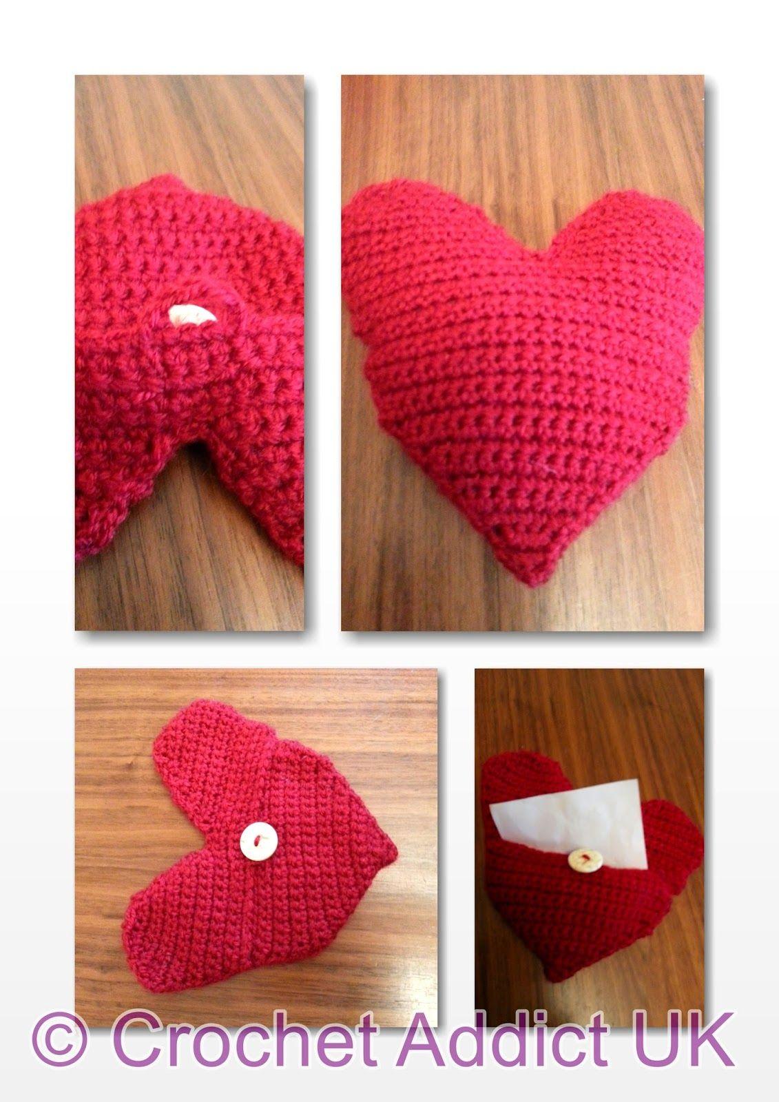 Free crochet pattern heart pillowenvelope handmade hearts free crochet pattern heart pillowenvelope handmade hearts pattern in us terms bankloansurffo Gallery