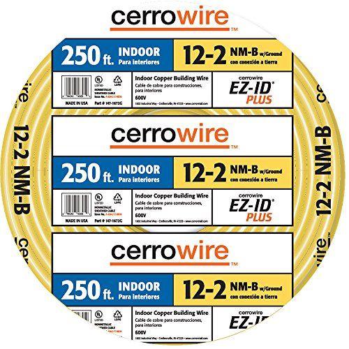 Cerro Wire 147-1662-G 250-Foot 2-Conductor NMB Romex Wire ...