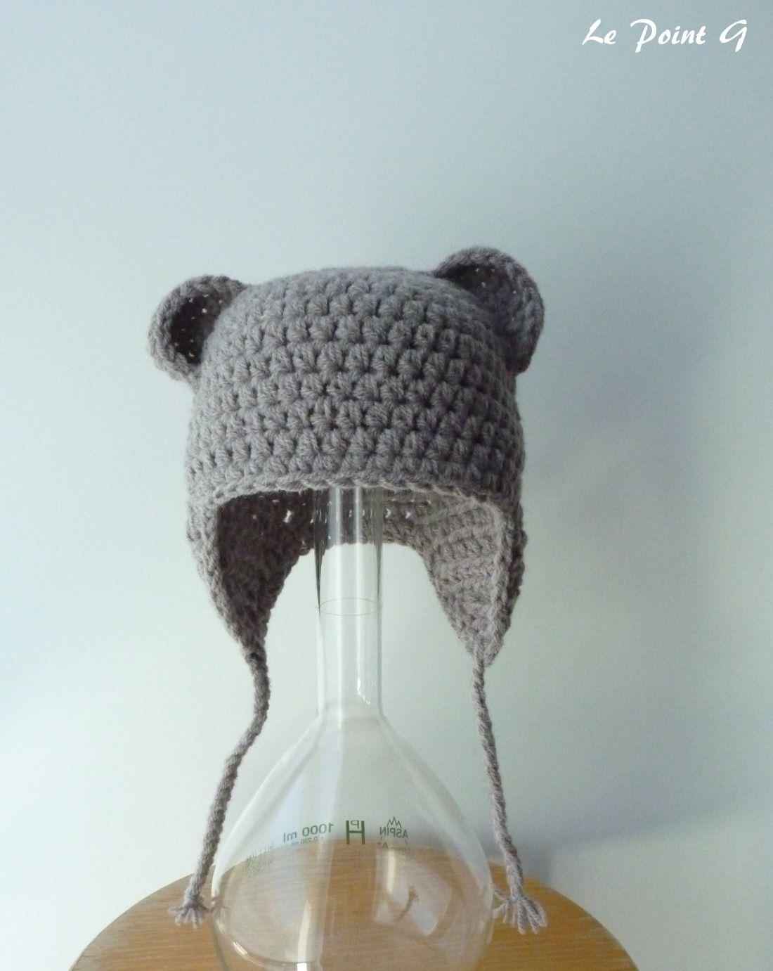 Bonnet Péruvien Ourson Pour Bébé 0 3 Mois Mode Bébé Par