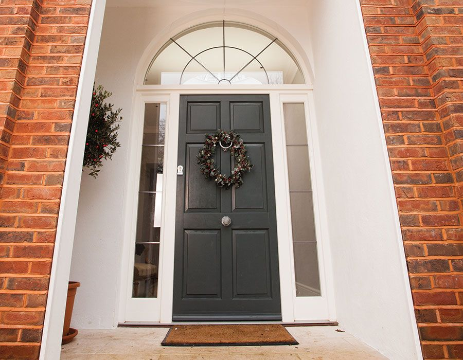 Bereco Bespoke Front Door In Timber With Sidelights And Fanlight 4