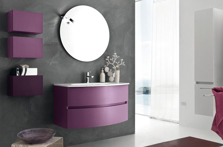 Vanity by RAB Arredobagno part of the Happy Collection..in a ...