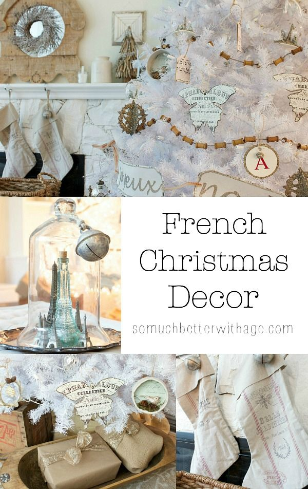 French Christmas Decor On Pinterest French Country