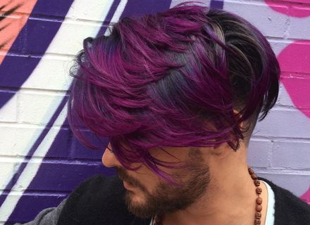 Hair Color For Men Hair Color Purple Dark Purple Hair Violet Hair