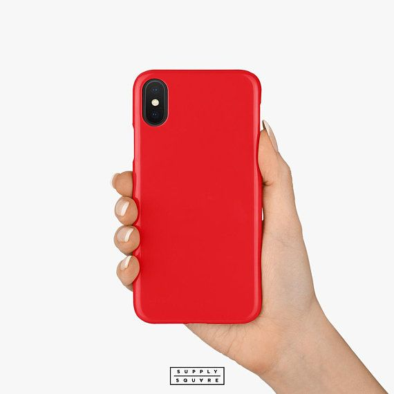 bright red iphone 8 case