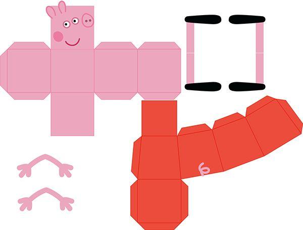 papercraft peppa pig buscar con google papercrafts pinterest loisirs cr atifs creatif. Black Bedroom Furniture Sets. Home Design Ideas