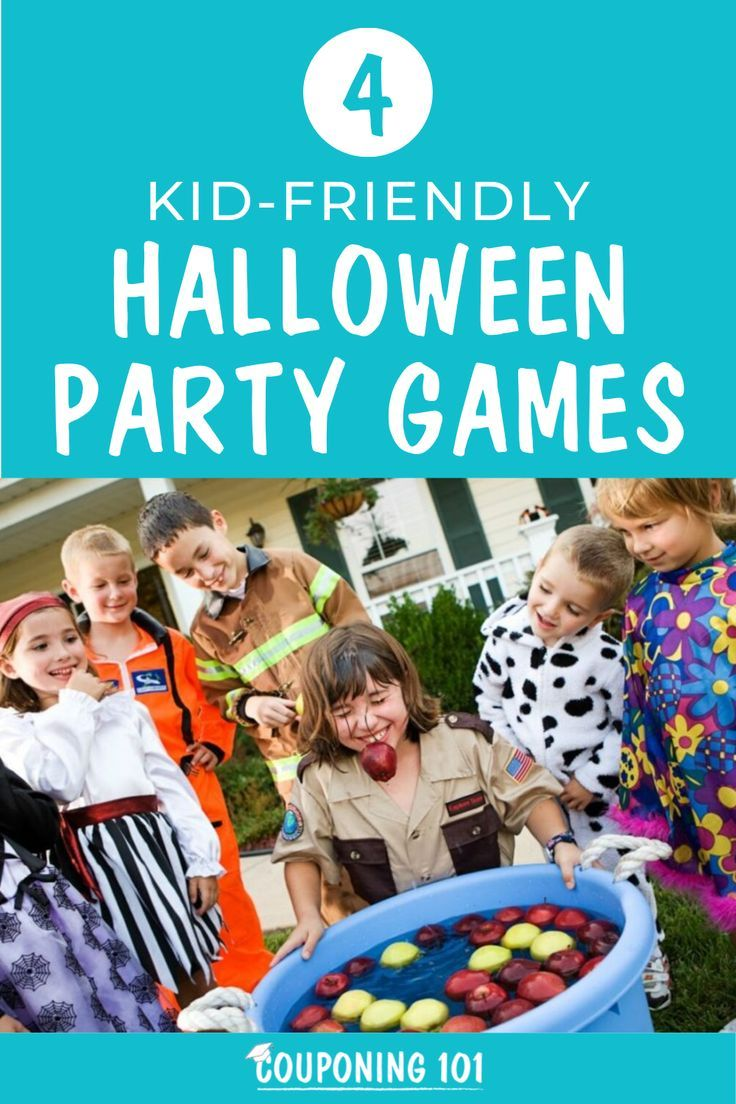 4 KidFriendly Halloween Party Games Halloween party