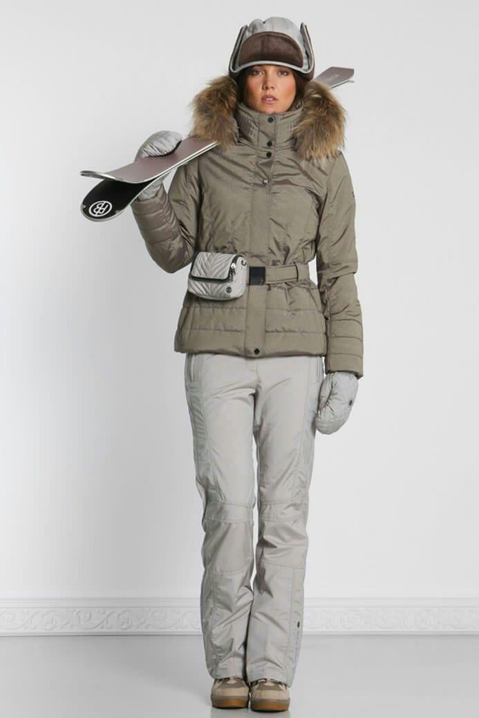15477f4f49 Women s 2-Piece Poivre Blanc Ski Suit ~ ~ Her Ski Pants are a Gainsborough