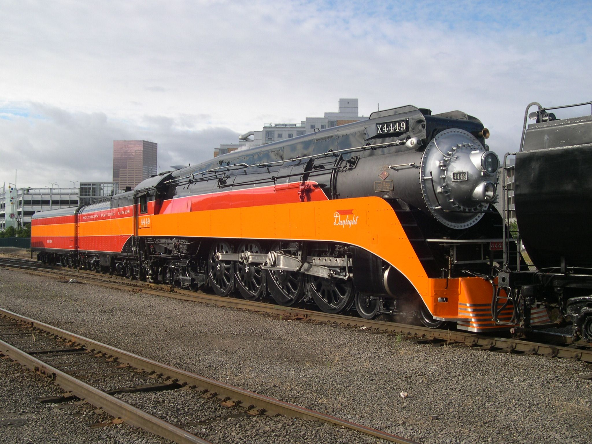 Steam Engine #Steam Locomotives #Streamliners Southern Pacific ...