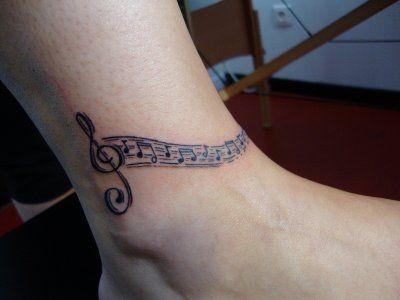 ric tattoo clef de sol stylis e avec 2 initiales tattoos pinterest. Black Bedroom Furniture Sets. Home Design Ideas