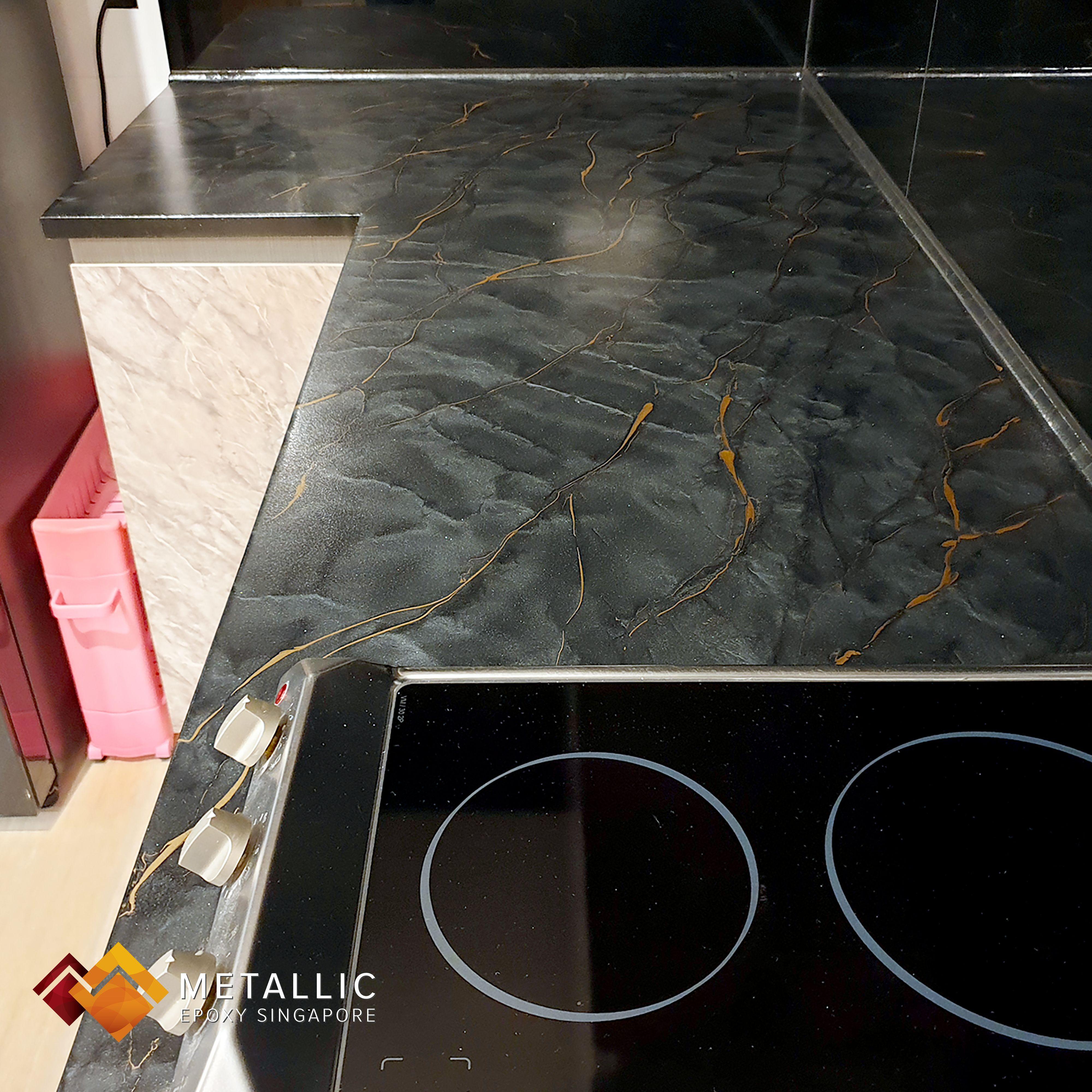 Pin On Metallic Epoxy Countertop Design Ideas