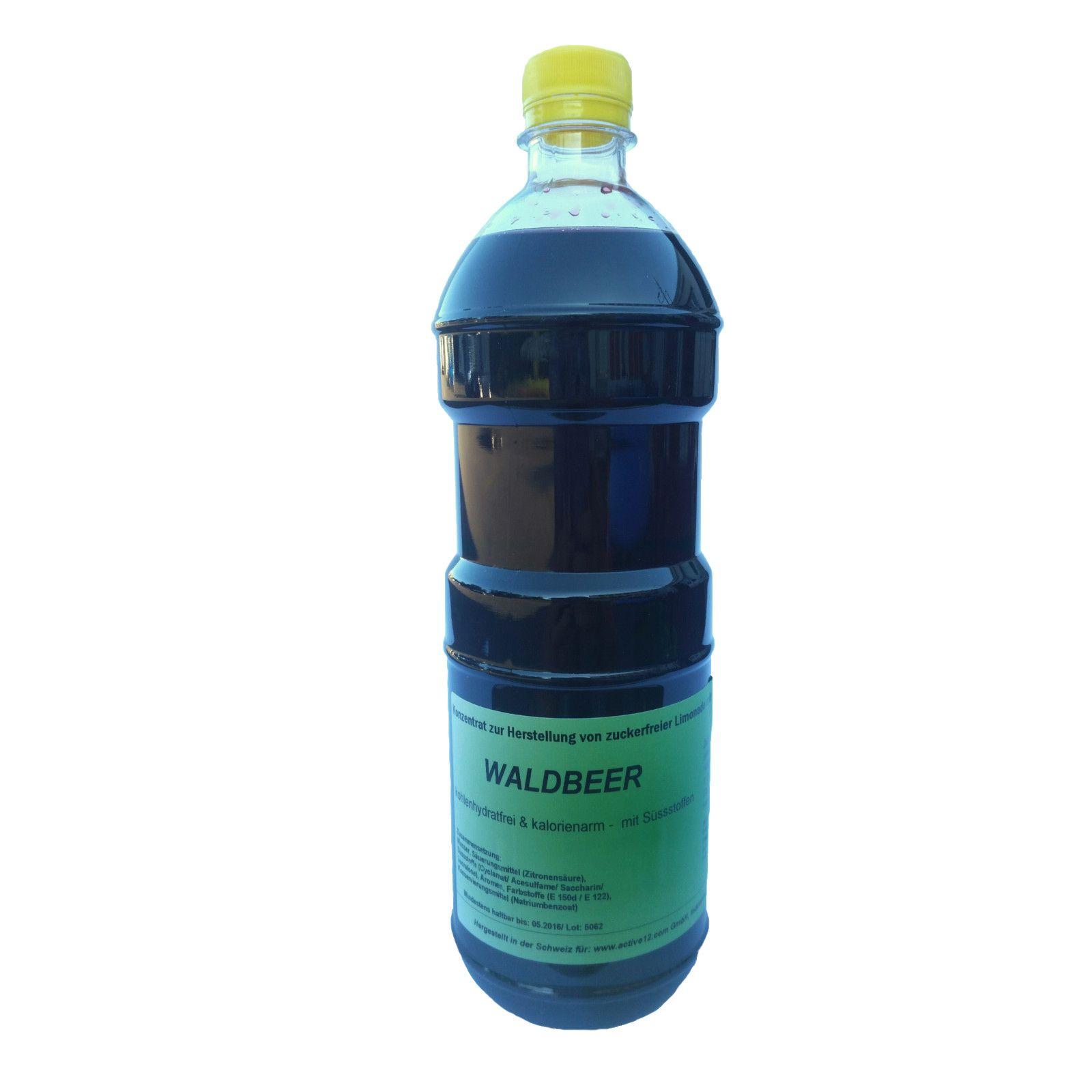 Getränke-Konzentrat AROMA WALDBEER ist wieder da - ohne ...