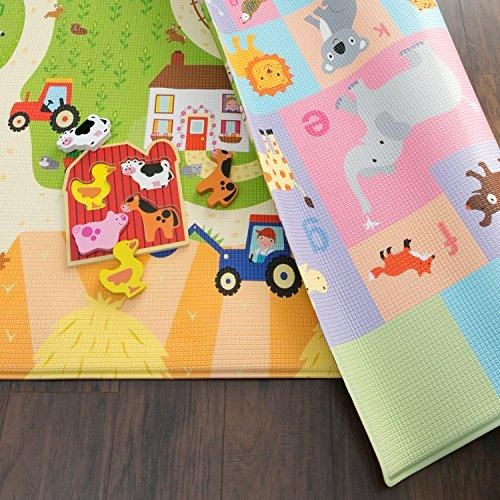 Baby Care Play Mat (Large. Busy Farm) – FanGearV.com | Baby rugs. Baby care. Kindergarten mat