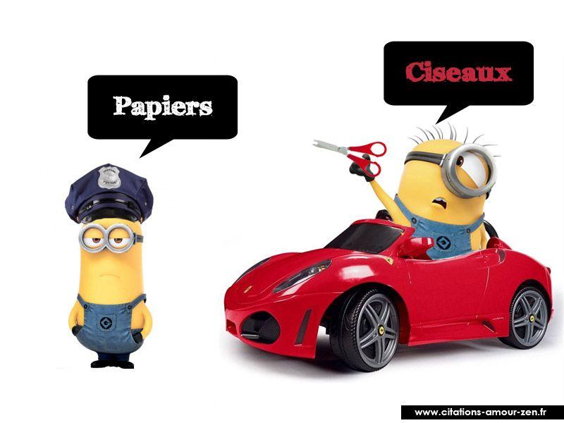 Minions minion humour sms rigolo et humour voiture - Dessin humoristique voiture ...