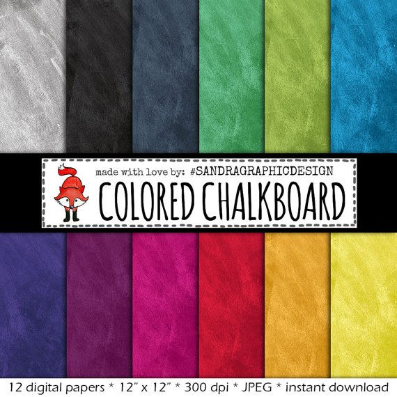Chalkboard Digital Paper Quot Colored Chalkboard Quot With Chalkboard Backgrounds In Various Colors W Digital Paper Chalkboard Texture Chalkboard Background