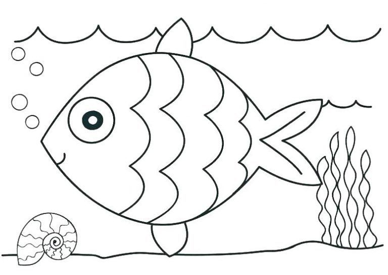 Free Printable Ocean Coloring Pages For Kids Kindergarten