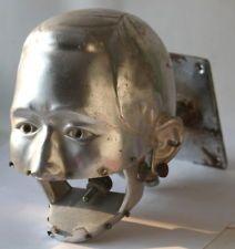 Dental Phantom Mannequin Man Industrial Dentist head VINTAGE steampunk modern