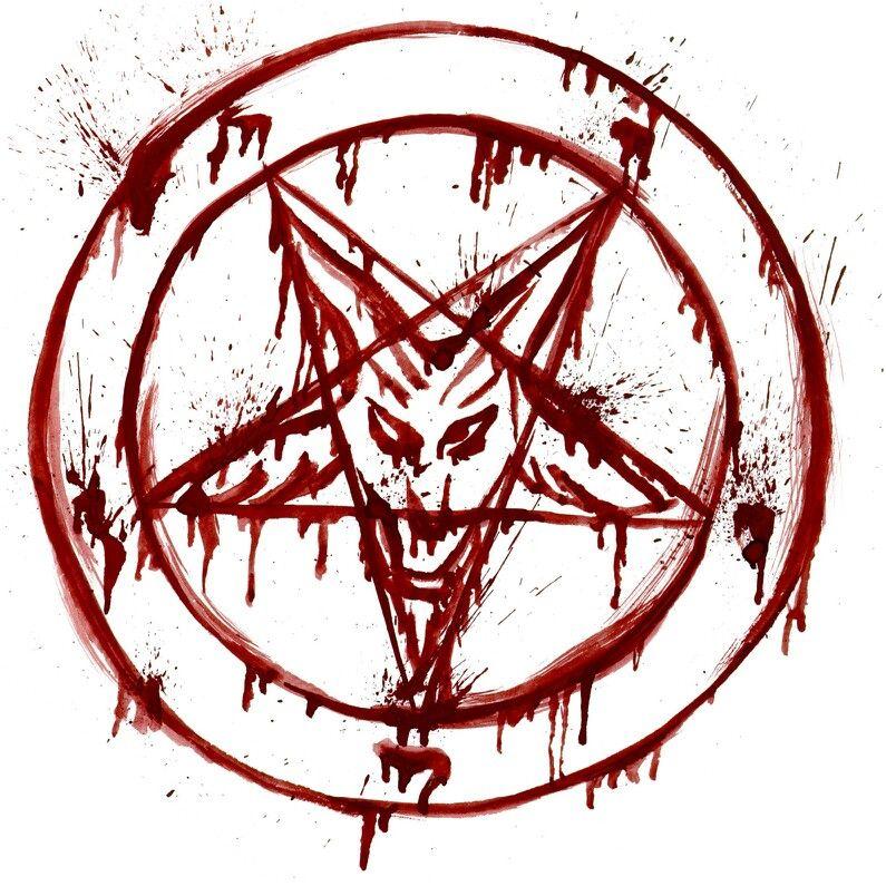 BAPHOMET PENTAGRAM SIGN SWEATSHIRT SWEATER PULLOVER Aleister Crowley 666 Satan