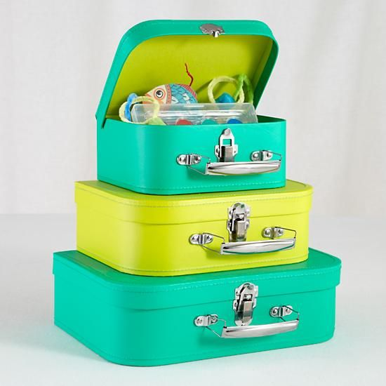 Kids Storage Suitcase