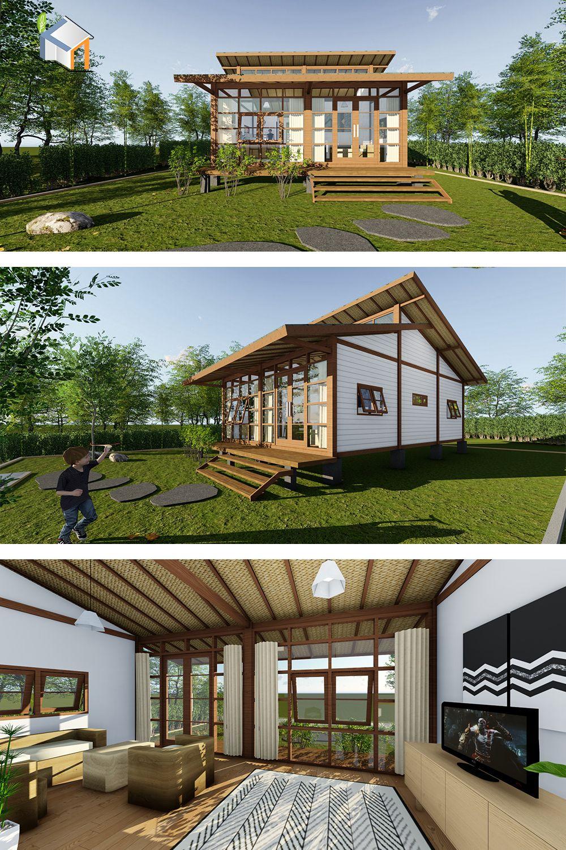 Desain Rumah Panggung Modern Minimalis Cek Bahan Bangunan