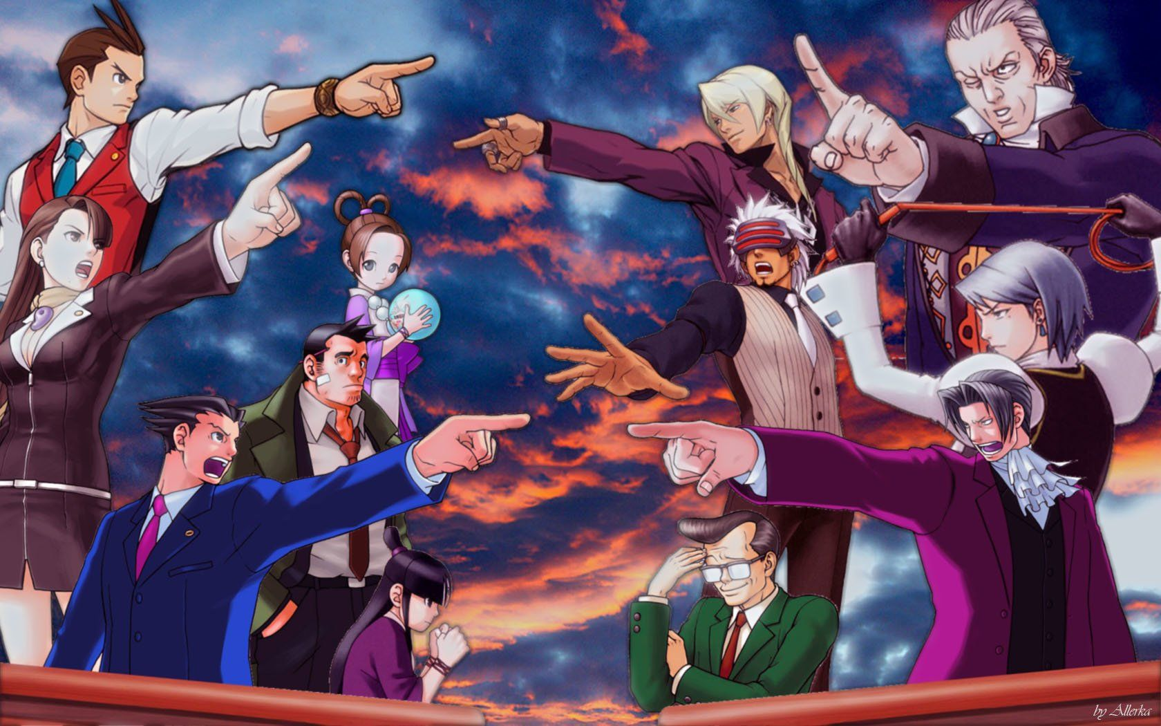 Phoenix Wright Wallpapers Wallpaper Cave Phoenix Wright Ace Attorneys