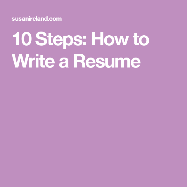 10 steps how to write a resume bathroom