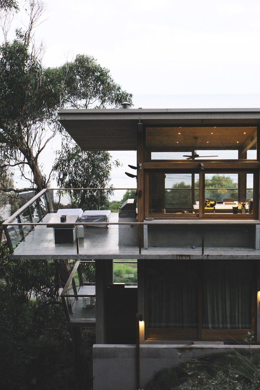 Ocean House, Lorne | Contemporary house | Ocean house, House design