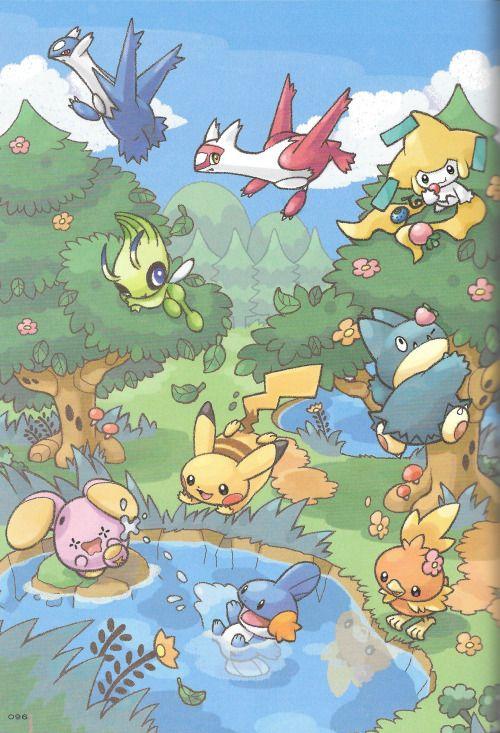Pokémon Park! With Munchlax, Mudkip, Whismur, Latios ...