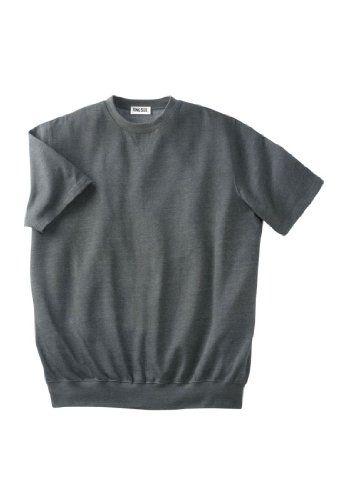 KingSize Big & Tall Short-Sleeve Crewneck Sweatshirt | Popular ...