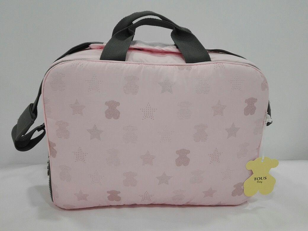 38e87c789 Bolsa de bebé de la colección Muse de Baby Tous. Se puede utilizar como  bolso