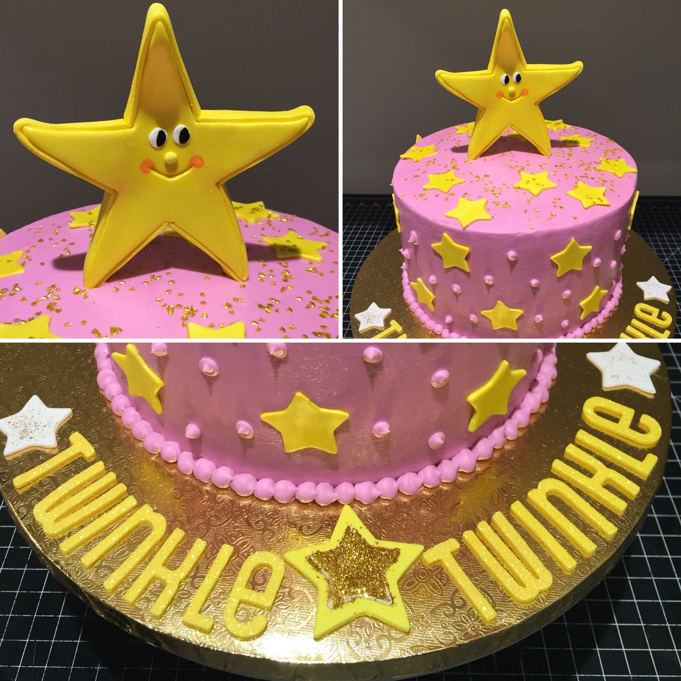 Twinkle Twinkle Little Star birthday cake for Zaras 4th Birthday