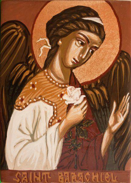 Saint barachiel guardian angel