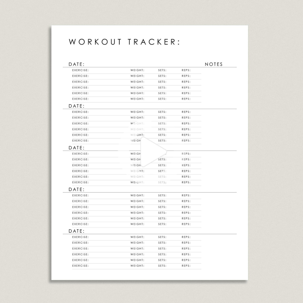 Workout Tracker | Fitness Tracker #fitness #fitboys