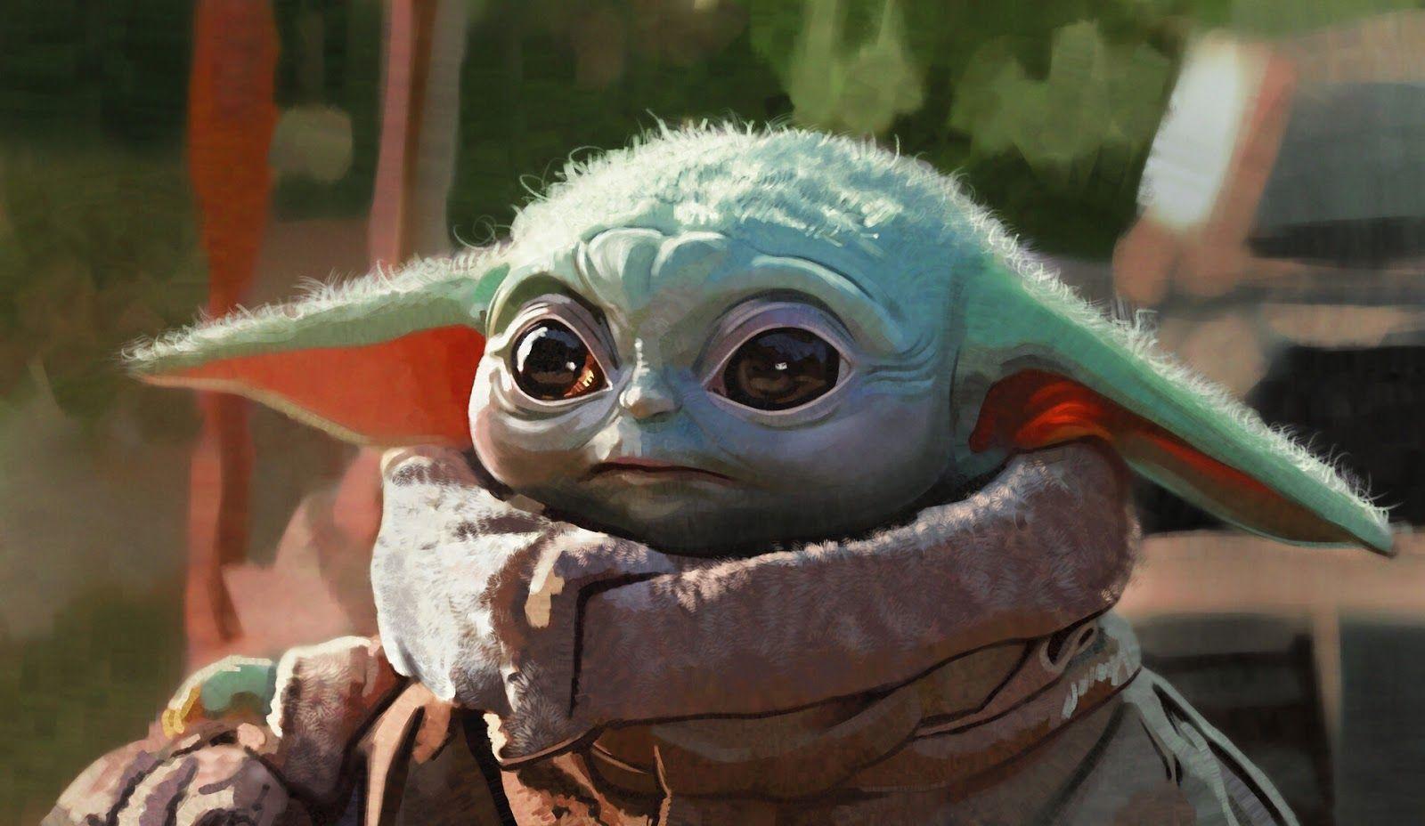 Baby Yoda Wallpaper in 2020 Yoda wallpaper, Yoda art