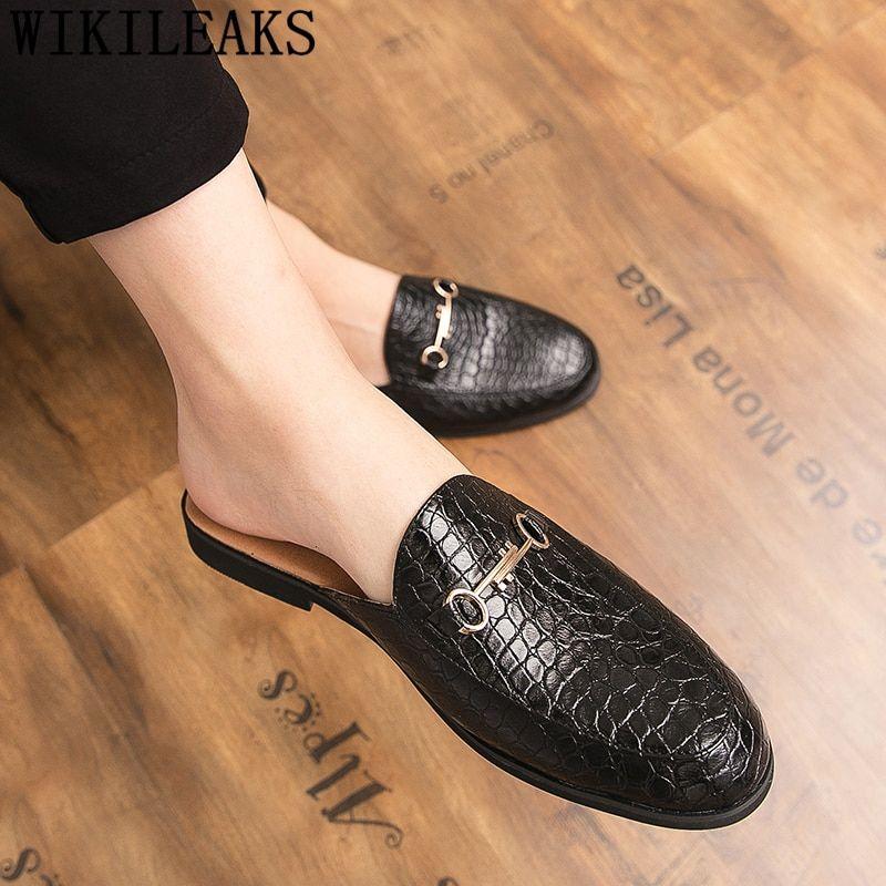 crocodile shoes men leather coiffeur