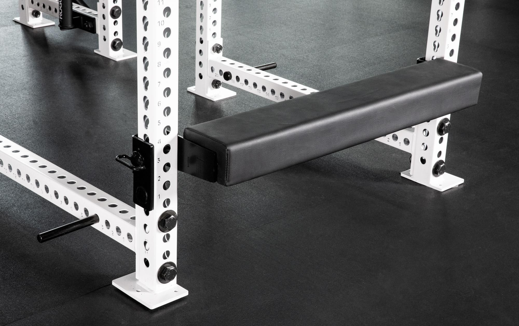 Monster Hip Thruster Bench Shown Attached To A Monster Rack And In Use Hip Thrust Squat Rack Hips