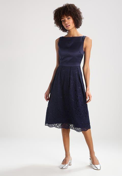 Oasis Cocktail dress / Party dress - navy - Zalando.co.uk | Kleider ...