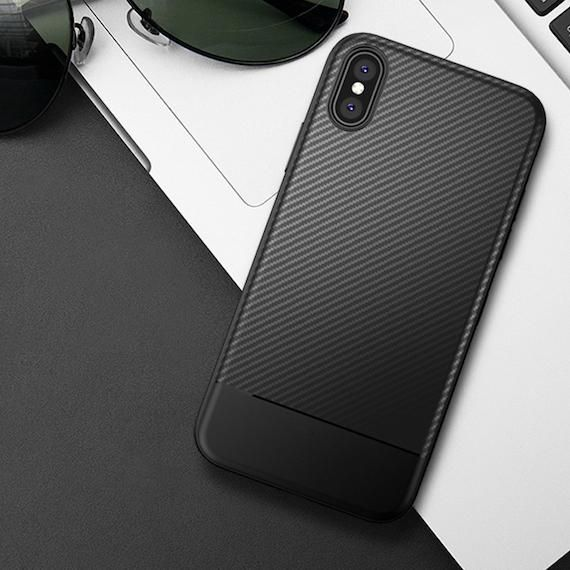 Iphone X Carbon Fiber Textured Case Products Iphone Cool Phone Cases Iphone Models